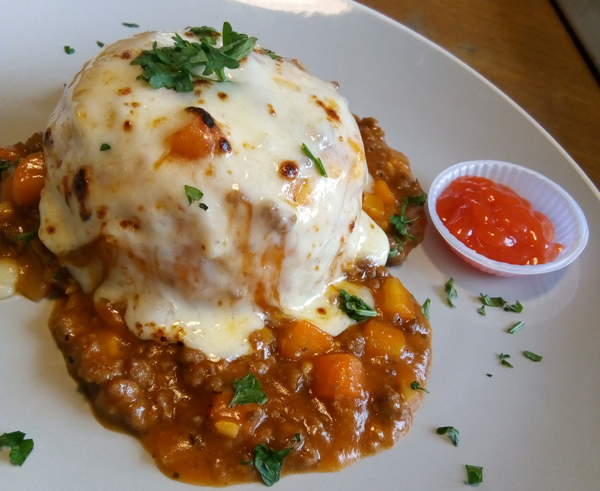 bolognese cheese rice